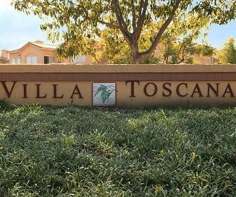 Community Signage, Villa Toscana