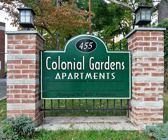 Community Signage, Colonial Gardens Apartments