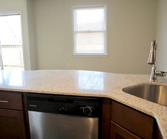 Kitchen, Glen Point Apartments