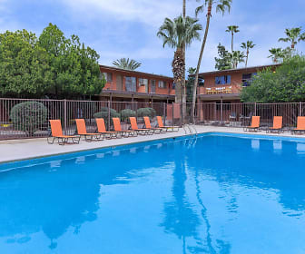Country Club Apartments, Sam Hughes, Tucson, AZ