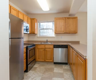 Kitchen, Valley Apartments