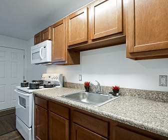 Kitchen, Woodworth Park Apartments