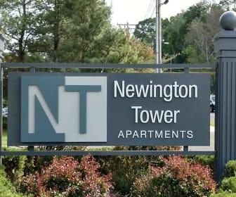 Community Signage, Newington Tower