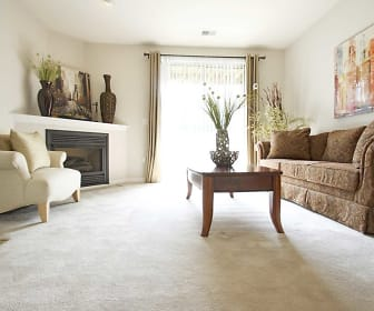 Living Room, Ventana Hills Apartments