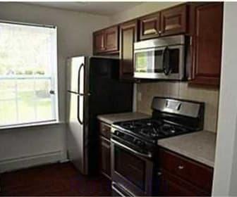 Kitchen, Southgate Apartments