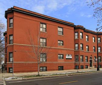 Building, 6557 South Minerva Avenue