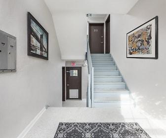 Foyer, Entryway, Garfield Park Apartment Homes