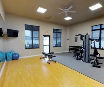 Fitness Weight Room, StoneMill Pond Apartments