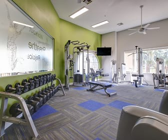 Fitness Weight Room, Avery on the Green
