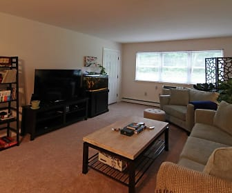 Living Room, Park Apartments