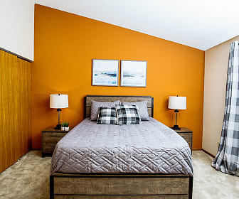 Bedroom, Mequon Trail Townhomes