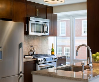 Kitchen, One Back Bay Apartments