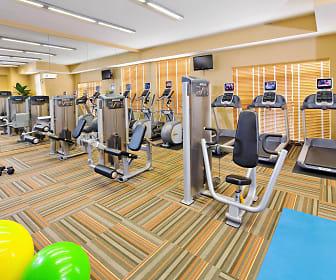 Fitness Weight Room, Rhode Island Row