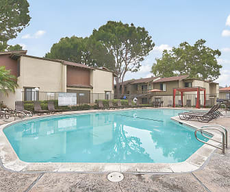 view of swimming pool, Raintree Apartment Homes