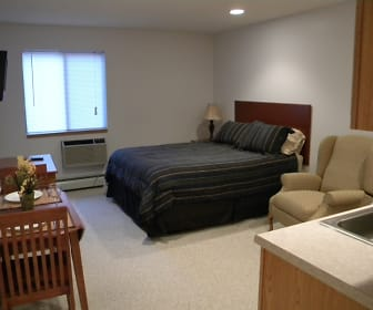 Bedroom, Deer Park Apartments