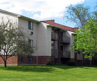 Building, Oakwood Apartments