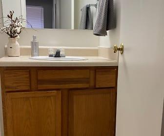 Bathroom, The Trails Apartments