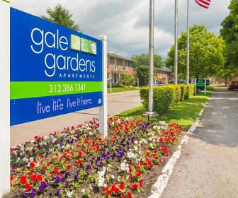 Gale Gardens Apartments, Julian O Strong Middle School, Melvindale, MI