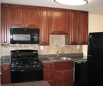 Kitchen, Yorkewood Apartments