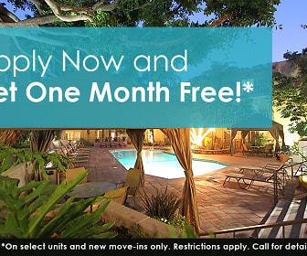 Apply Now and Get One Month Free!*, Mediterranean Village