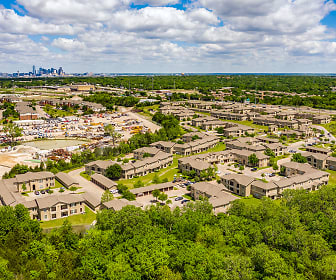 Five Mile Creek, Oak Park Estates, Dallas, TX