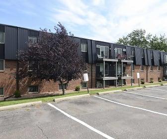 Building, Riverbend Apartments