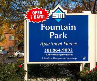 Community Signage, Fountain Park