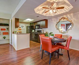 Dining Room, Casa Santa Fe