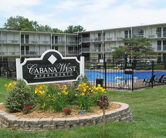 Community Signage, Cabana West Apartments