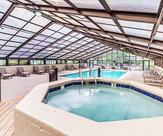 view of swimming pool, Eldridge Townhomes