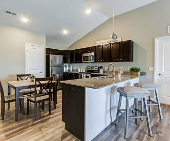 Kitchen, The Colony at Waterville Landing