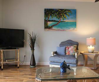 Living Room, 3600 S Oceanshore Blvd #417