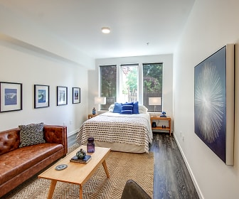 Living Room, Wheel House Lofts