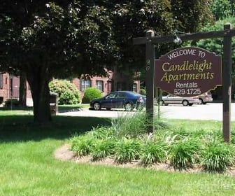 Community Signage, Candlelight Apartments