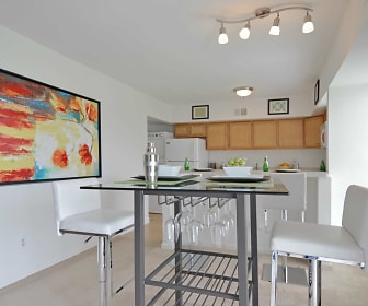 Dining Room, Cavalier Country Club Apartments