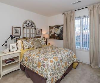 Bedroom, Manassas Meadows Apartments