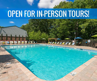 Take a refreshing dip in our resort-style swimming pool. We are excited to offer in-person tours while following social distancing and we encourage all visitors to wear a face covering., Southwood Acres