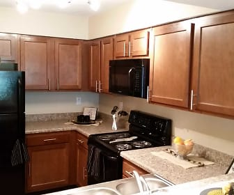 Kitchen, Eagle Creek Apartments