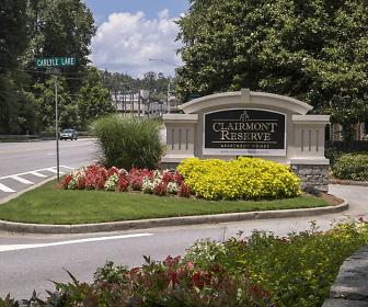 Community Signage, Clairmont Reserve Apartments