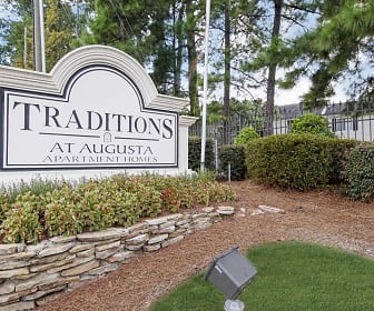 Community Signage, The Traditions At Augusta