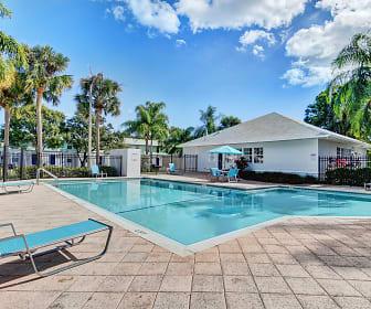 Pool, Oakwood Apartments
