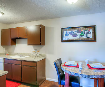 Kitchen, Buffalo Springs Apartments