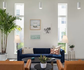 lobby featuring a wealth of natural light, Rockledge Flats Apartments