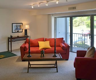 Living Room, Valley Stream Apartments