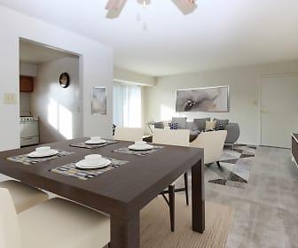Dining Room, Glen Mar Apartment Homes