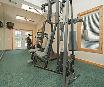 Fitness Weight Room, Trinity Mills Apartments