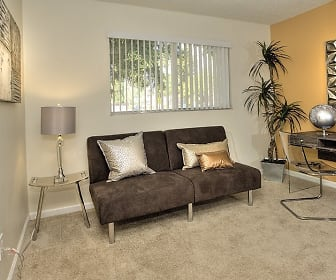 Living Room, Creekside Gardens Apartments