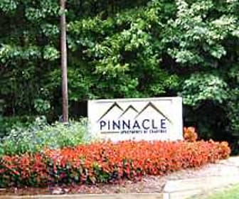Community Signage, Pinnacle Apartments