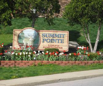 Community Signage, Summit Pointe Apartments