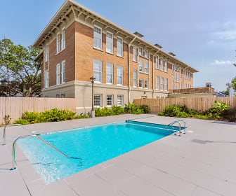 Pool, North Rendon Apartments